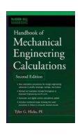 Handbook of Mechanical Engineering Calculations. Hicks.
