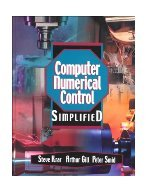 Computer Numerical Control Simplified CD Rom included.