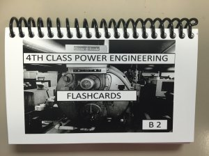 B2 4th Class Power Engineering FlashCards