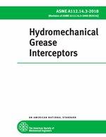 A112.14.3 Hydromechanical Grease Interceptors