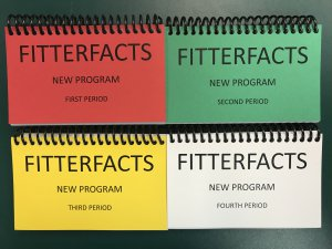 Fitter Facts Set for New Program Includes 1st, 2nd, 3rd, and 4th Period