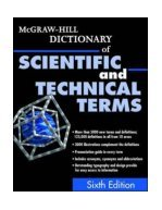 McGraw Hill Dictionary of Scientific & Technical Terms