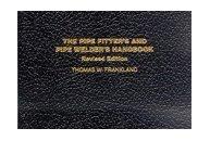 Pipe Fitters & Pipe Welders Handbook. Frankland