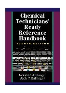 Chemical Technician's Ready Reference. Shugar.