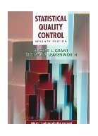 Statistical Quality Control with Disk. Grant.