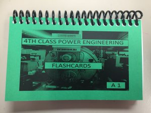 A1 4th Class Power Engineering FlashCards
