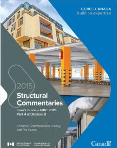 Structural Commentaries User's Guide - NBC 2015 : Part 4 of Division B